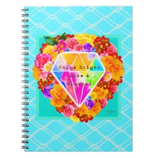 Shine Bright Like A Diamond Notebook