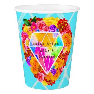 Shine Bright Like A Diamond Paper Cup
