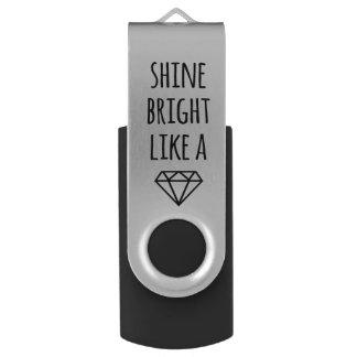 Shine Bright Like a Diamond USB Drive