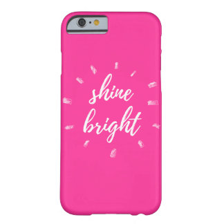 """Shine Bright"" Pink iPhone 6/6s Case"