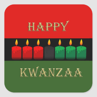 Shine Brightly Kwanzaa Holiday Stickers