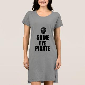 Shine Eye Pirate Eyepatch. Dark Text Dress