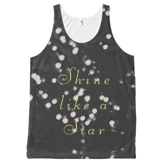 Shine like a star All-Over print singlet