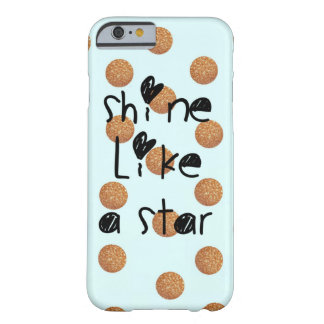 shine like a star barely there iPhone 6 case