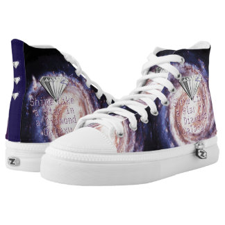 Shine Like a Star in a Diamond Galaxy High Tops