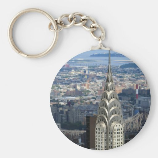Shine Like the Chrysler Building Key Chains