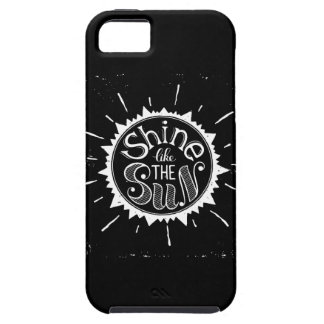 Shine Like The Sun iPhone 5 Cases