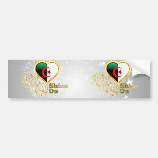 Shine On Algeria Bumper Stickers