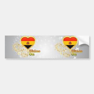 Shine On Bolivia Bumper Sticker
