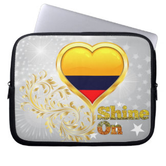 Shine On Colombia Laptop Sleeve