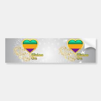 Shine On Gabon Bumper Sticker
