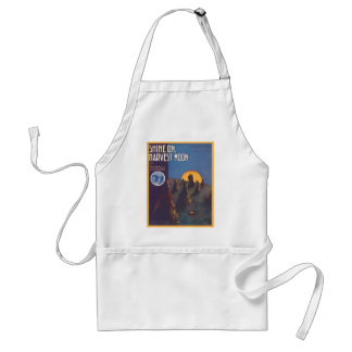 Shine On, Harvest Moon Songbook Cover Apron