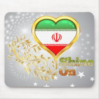Shine On Iran Mousepads