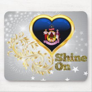 Shine On Maine Mousepad