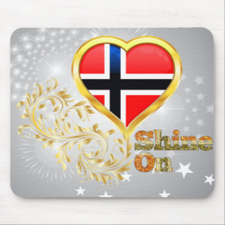 Shine On Norway Mousepads