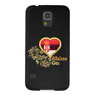 Shine On Serbia Galaxy S5 Cases