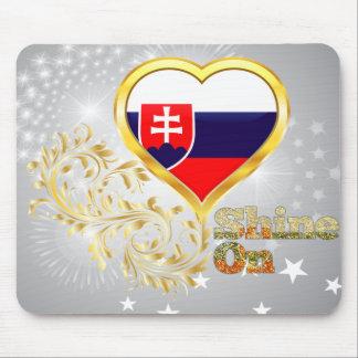 Shine On Slovakia Mousepad