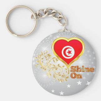 Shine On Tunisia Key Ring