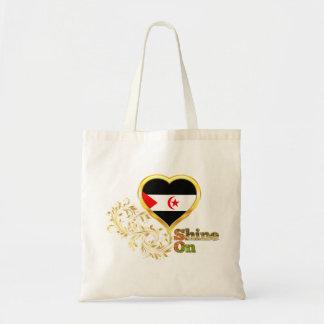 Shine On Western Sahara Tote Bag