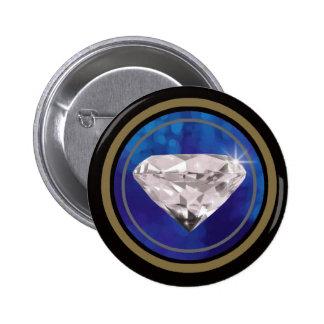 shine on you 6 cm round badge
