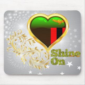 Shine On Zambia Mousepad