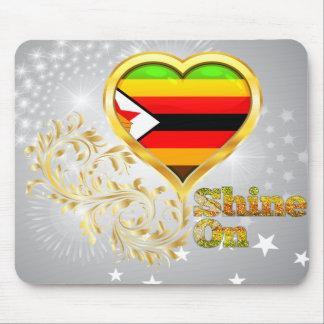 Shine On Zimbabwe Mouse Pad