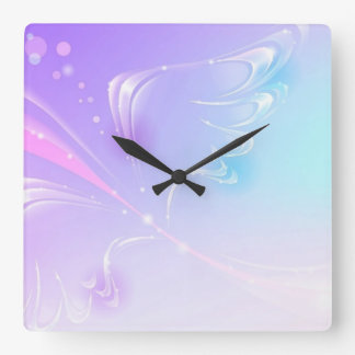 Shine Wing Square Wall Clock