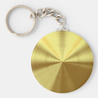 Shiney Gold Key Chains
