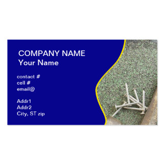 shingle roof business card templates