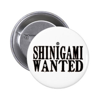 Shinigami Wanted 6 Cm Round Badge