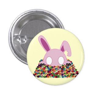 Shinikaru Bunny - Sugar Skulls 3 Cm Round Badge