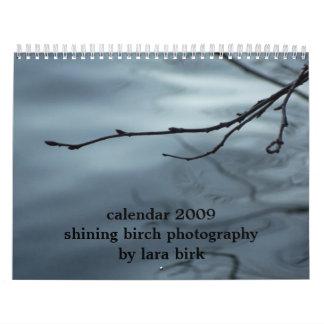 shining birch photography by lara birk calendar