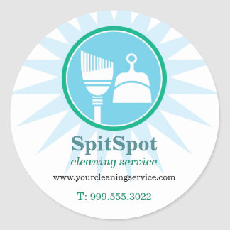 Shining Bright Cleaning Services Sticker