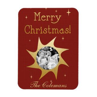 Shining Christmas Wishes - photo magnet