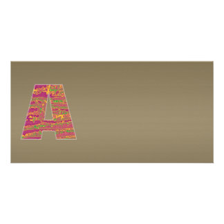 Shining Copper Mettallic Shade  n Art101 Graphic Card