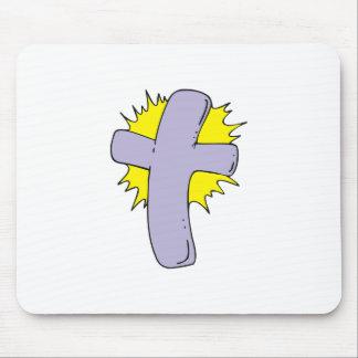 Shining Cross Mousepads
