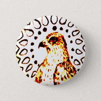 Shining Desert Fox 6 Cm Round Badge