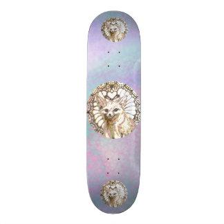 Shining Desert Fox Skateboard Deck