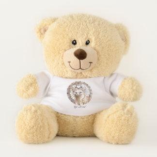Shining Desert Fox Teddy Bear