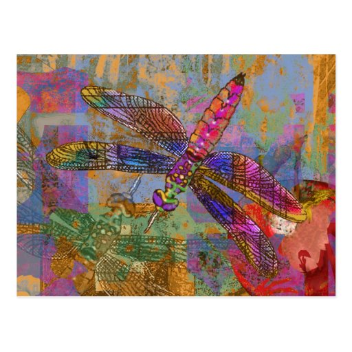 Shining Dragonfly Postcards