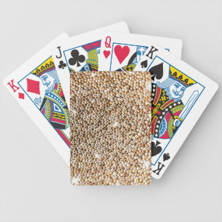 Shining gold box deck of cards