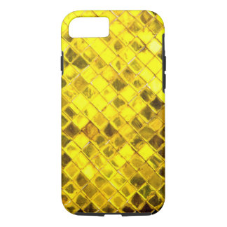 Shining Gold Diamond Pattern iPhone 7 Case