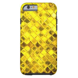 Shining Gold Diamond Pattern Tough iPhone 6 Case