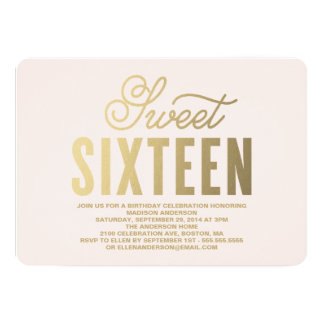 Shop Zazzle's selection of 16th birthday invitations for your party!