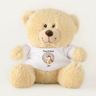 Shining Hawk Teddy Bear