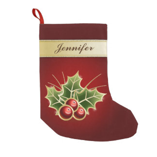 Shining Holly Berry Personalizable