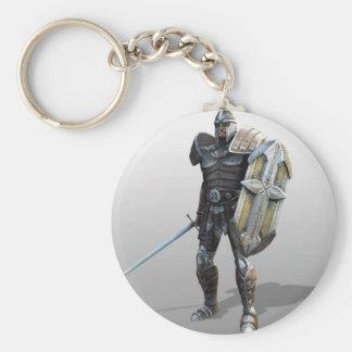 Shining Knight Key Ring
