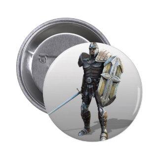Shining Knight Pinback Buttons