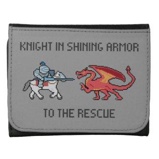 Shining Knight vs Dragon Wallet