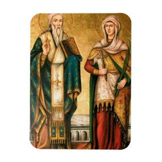 """Shining magnet """"Is Cipriano and Santa Justina """""""